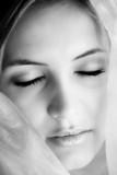 beautiful sleeping face poster