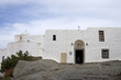 white stucco grotto