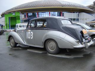 retro rally car