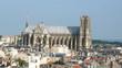 reims cathédrale aérien