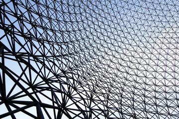 mesh into the sky