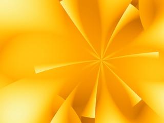 stella frattale dorata