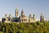parliament hill canada poster
