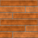 beige brick wall poster