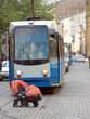 tramway track repair