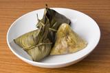 plate of rice dumplings poster