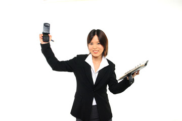 business woman on the phone09