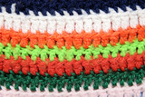 Colorful wool pattern in closeup  poster