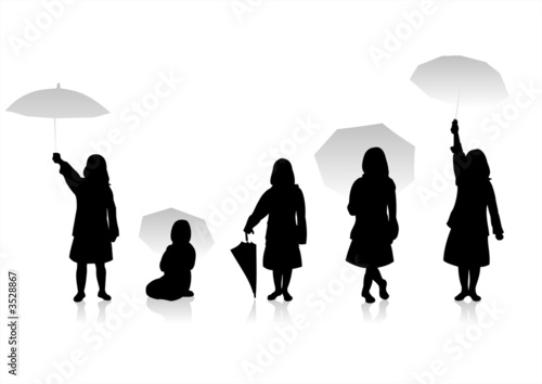 children silhouettes 8