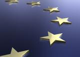 european union flag theme poster