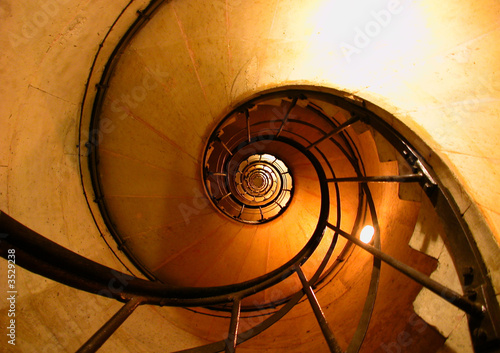 okrągłe schody