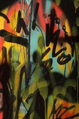 Graffiti painting.