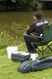 attente du pêcheur poster