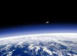 horizon terrien vu de l'espace - 3532882