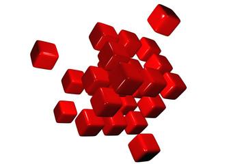 cubi rossi 3d