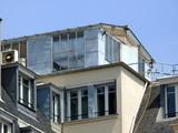 Atelier sur les toitsparis 7 poster