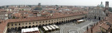 Panoramic view of Piazza Ducale in Vigevano, Italy poster