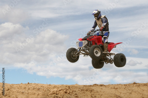 Four-Wheeler Jumping