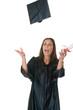 Young Woman Graduate Receives Diploma 13
