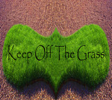 Keep Off The Grass poster