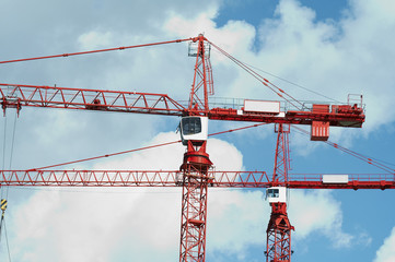 red crane in bristol