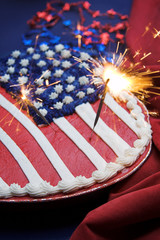 american patriotic cake