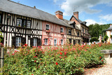 Timber Framed Normandy Houses poster
