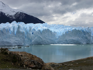 Perito Merino Glacier in Argentina, South America