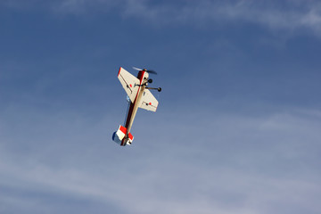 small sport plane fly up