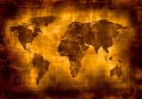 Fototapeta streszczenie - afryka - Mapa / Świat