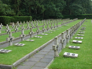 Graves of polish soldiers killed in World War 2