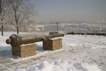 Cannon on the hill - Moscow