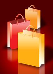 Shop till you drop concept