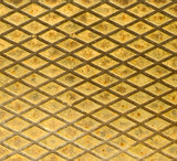 rusty metal grid, perfect grunge background poster