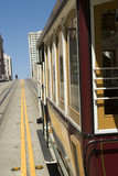 Famous Cable Car in San Francisco California poster