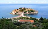 Little touristic island in the Adriatic sea poster