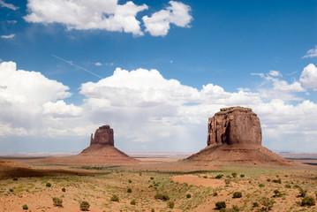 USA. Arizona. Monument Valley Navajo Tribal Park.