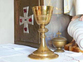 chalice and tabernacle