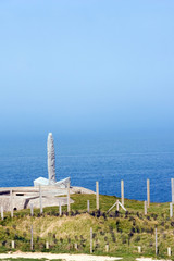Monument to the Army Rangers at Point du Hoc