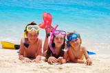 Fototapety snorkelers