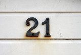 Number twenty-one poster
