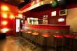 Modern and beautiful bar in a night club