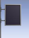 blank advertising billboard poster