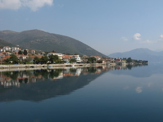 The Bay of Boka Kotorska, Montenegro