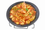Shrimp stew (Brazilian typical food) . poster
