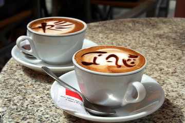 art of cappuccino