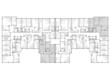 A plan of a building