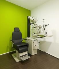 corner with a test vision machine