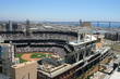 San Diego's Petco Park, Coronado Bridge in the background.
