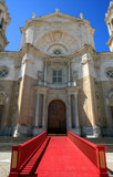 main door of catholic cathedral of the city of Cadiz poster